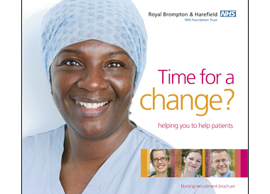 Cover Portrait Royal Brompton & Harefield Hospital Nursing Recruitment Brochure