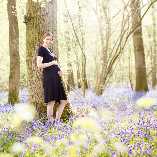 Bluebell Wood and Bump