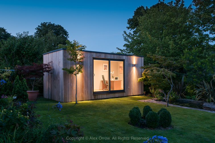 Contained Solutions Photoshoot – Bespoke Garden Rooms