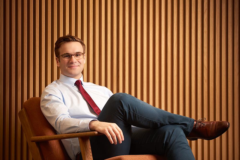 Early Metrics CEO Corporate Portrait London